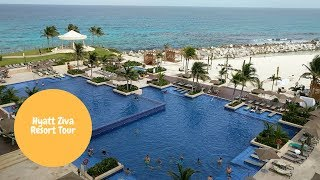 Hyatt Ziva Cancun Tour
