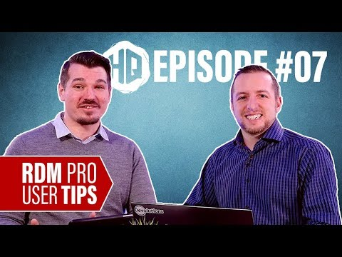 HQ #07 - Three Pro-User Tips from an RDM Expert