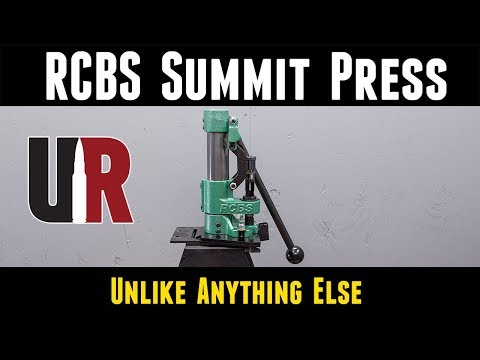 RCBS Summit Press: Unboxing and Overview, Loading 6 5 Creedmoor