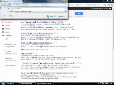 How to Save a PDF file on Google Chrome.mp4