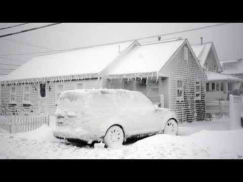 Strongests Snowfall in the USA