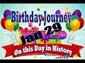 Birthday Journey January 29 New