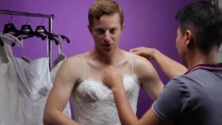 Hombres GAYS se ponen vestidos de novia