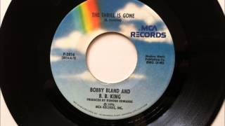 The Thrill Is Gone , B B King , 1976 Vinyl 45RPM