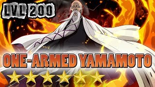 One-Armed Yamamoto (Technique) 6★ LVL.200 Review/Gameplay/PVP [Bleach Brave Souls]