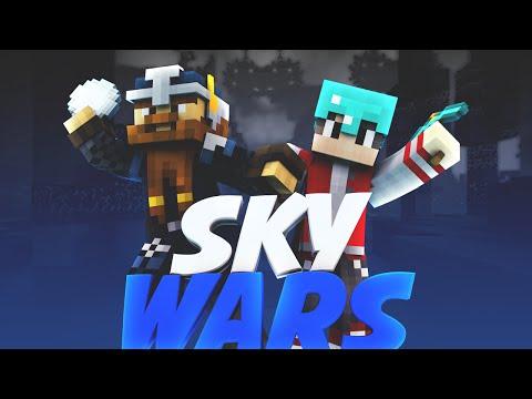 Minecraft: Costruirsi una CASA nelle SkyWars? - w/Luck