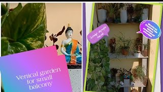 Vertical Gardening Ideas for Small Balcony