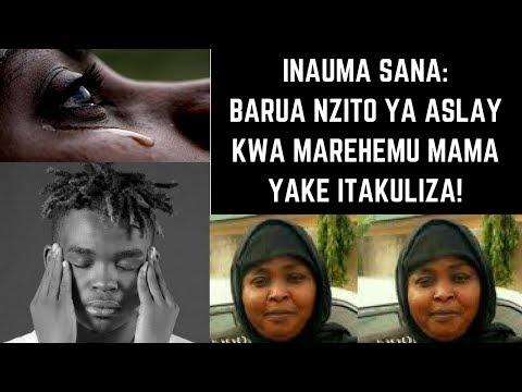 ITAKULIZA!  Barua Nzito ya Aslay kwa Mama Yake Mzazi