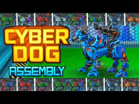 Cyber Dog Assembly - Play Online At Y8 Com - YouTube
