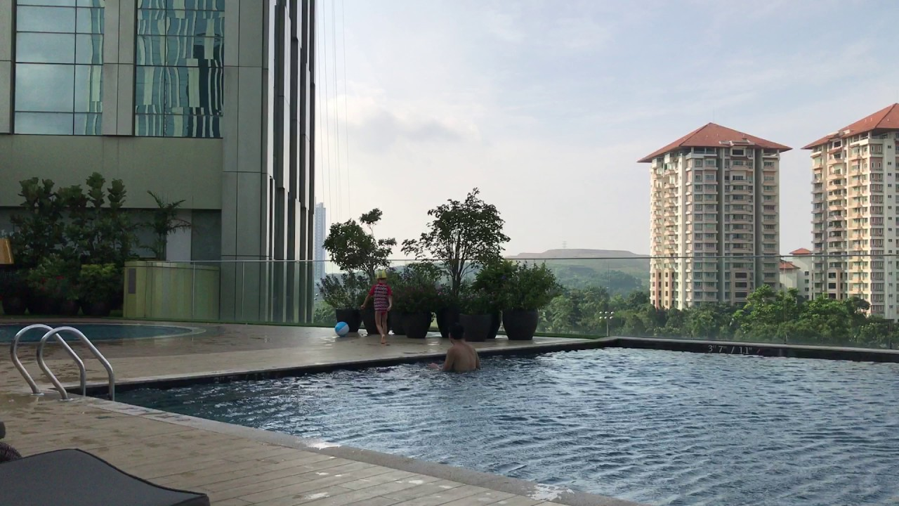 le meridien putrajaya swimming pool youtube. Black Bedroom Furniture Sets. Home Design Ideas