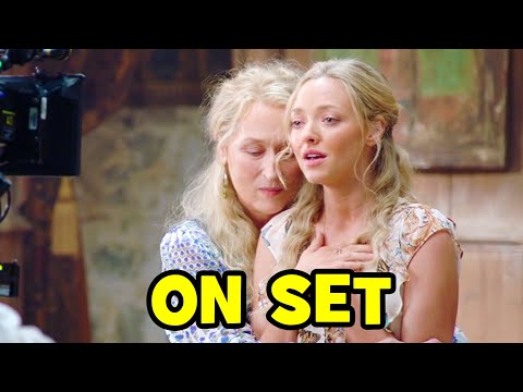 Go Behind The Scenes on MAMMA MIA! 2 Here We Go Again