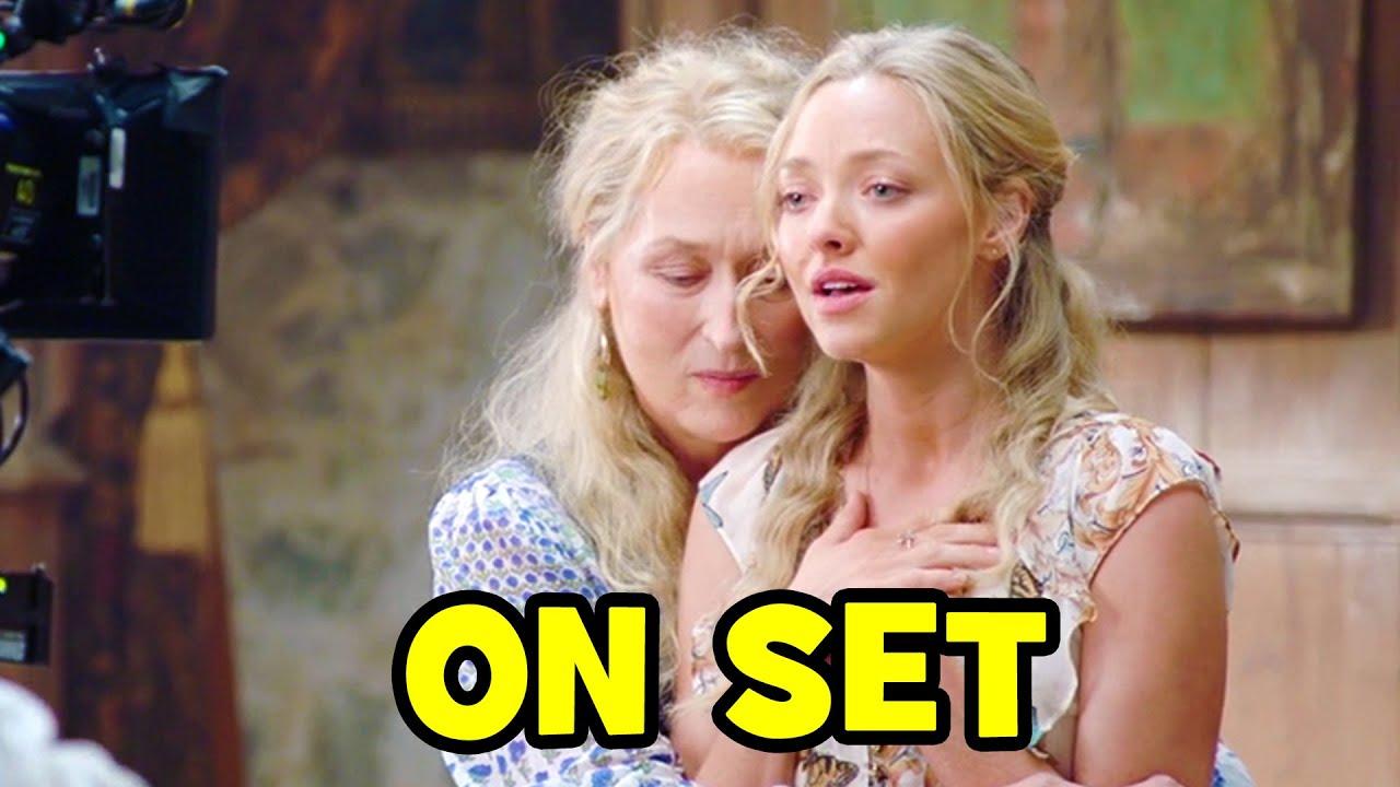 Go Behind The Scenes On Mamma Mia 2 Here We Go Again Youtube