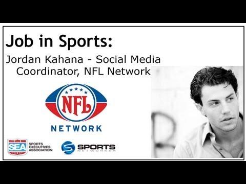 Job In Sports: Social Media Coordinator - NFL Network - Jordan Kahana