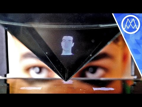 MAKE 3D HOLOGRAPHIC CALLS ON YOUR SMARTPHONE!