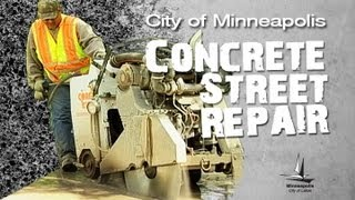 City of Minneapolis Concrete Street Repair