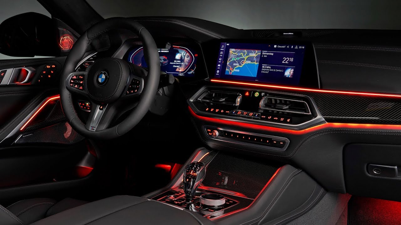 Bmw X6 2020 Interior Night