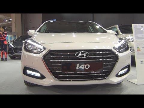 Hyundai i40 FL 1.7 CRDi 141 hp 7DCT Premier GT 2016 Exterior and Interior