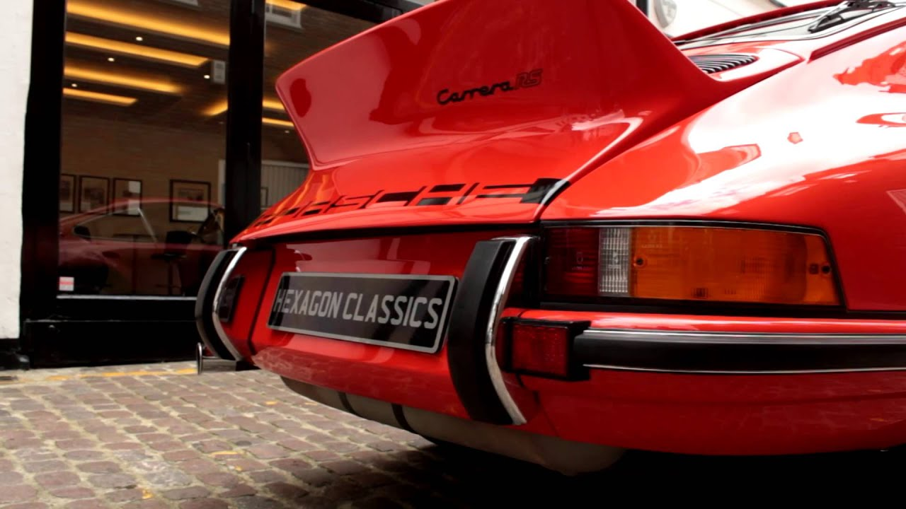 1973 porsche 911 carrera 27 rs touring m472 hexagon classics 1973 porsche 911 carrera 27 rs touring m472 hexagon classics youtube vanachro Choice Image