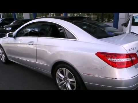 2011 Mercedes Benz E350 COUPE Certified Fort Washington PA