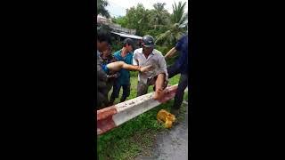 Điện giật chết người ở chợ Rau Dừa huyện cái Nước tỉnh Cà Mau.