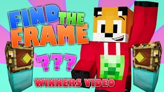 Find The Frame Winners - Survival Series Game
