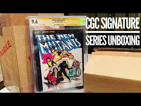 CGC Signature Series Unboxing - Chris Claremont, Greg Land & Bob McLeod