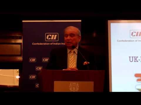 Dhruv Sawhney speaking at the CII CBI Conference 2015