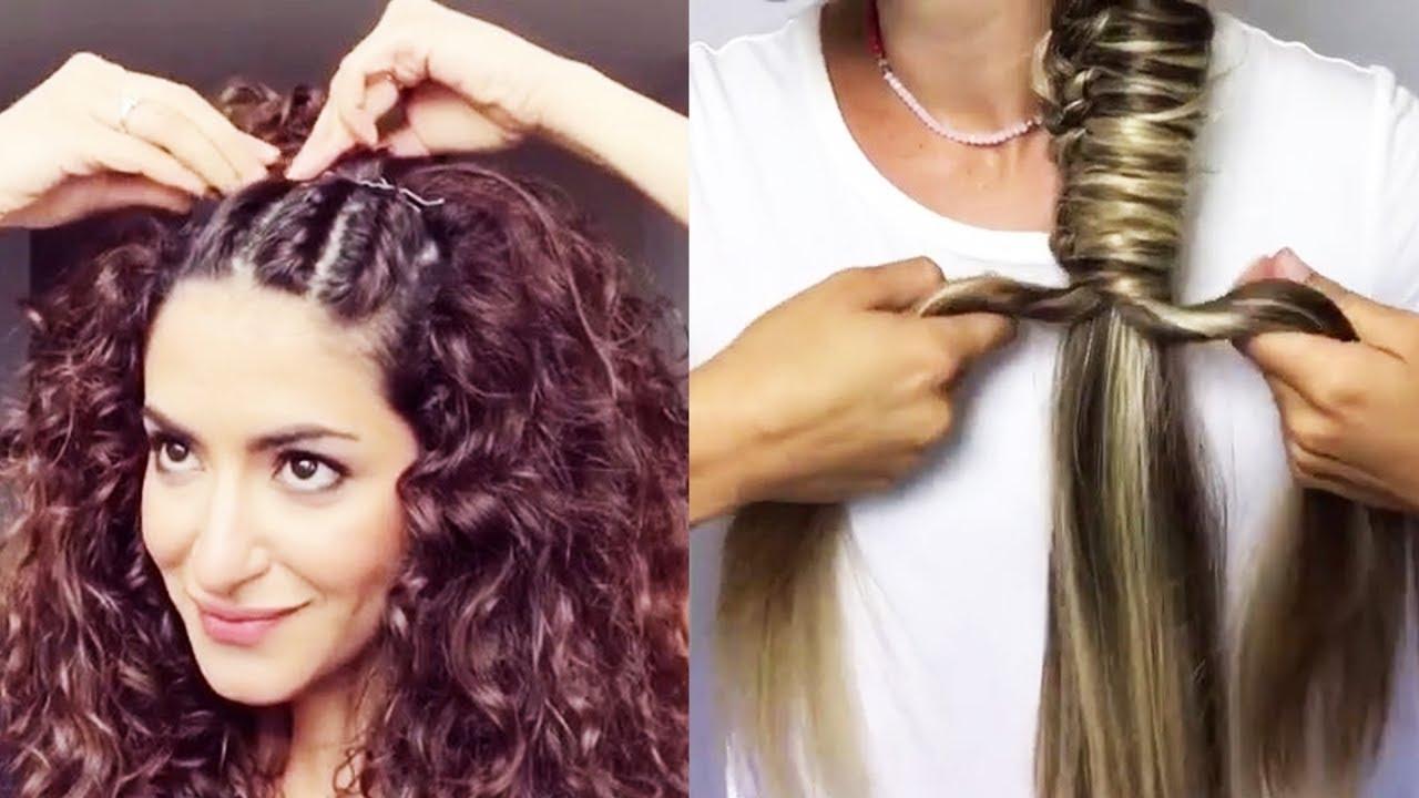Best DIY Hairstyles Tutorial 2017  Easy Hairstyles Step