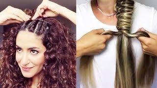 Best DIY Hairstyles Tutorial 2017 - Easy Hairstyles Step by Step #4