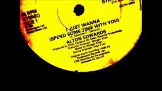 "Alton Edwards  -  Just wanna spend some time with  you. 1981 (12"" Soul/Dance classic)"