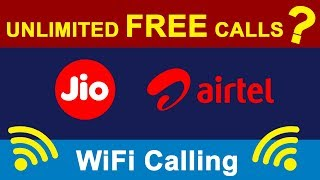 What is WiFi Calling VoWiFi in Hindi | Unlimited Free Calls using WiFi ? | How To Activate VoWiFi?