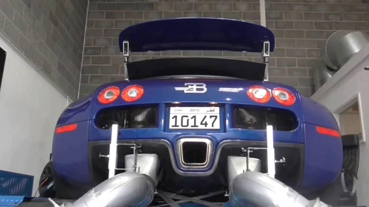 Bugatti Veyron Dyno TEST