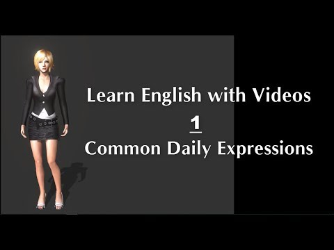 Learn English with Videos - 01 | Common Daily Expressions | Learn English Online
