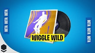 Fortnite Wiggle Wild Lobby Music - Victory Royale gameplay after the update (New Skins!)