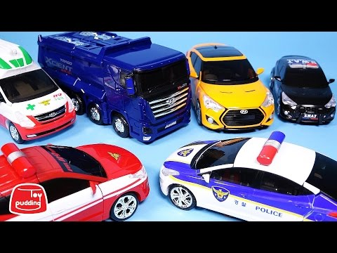 Hello CarBot Robot Car Toys 카봇 펜타스톰 장난감