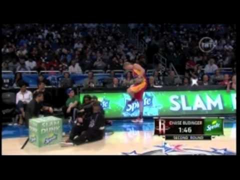 """Chase Budinger in the 2012 Slam Dunk Contest"""