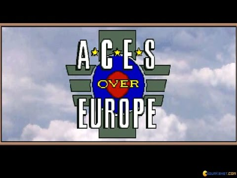 Aces Over Europe Gameplay (PC Game, 1993)