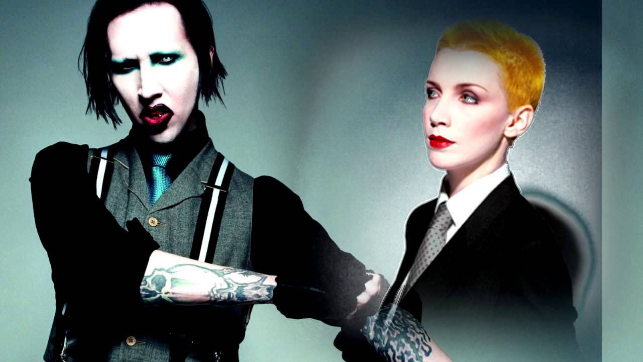 sweet dreams - marilyn manson vs  eurythmics  synced