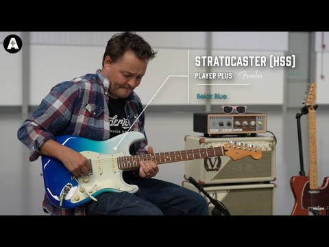 NEW Fender Player Plus HSS Stratocaster - Playing Only Demo!