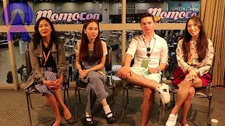 Steven Universe Cast Interview Momocon 2017