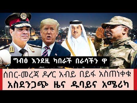 Ethiopia- ሰበር ዜና ዶ/ር አብይ በይፋ አስጠነቀቁ አልበገርም -አስደንጋጭ ዱባይና አሜሪካ መደመጥ ያለበት መረጃ