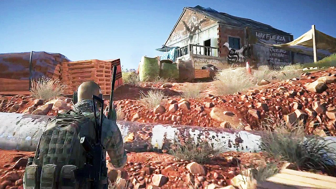 Ghost Recon Wildlands, Future Soldier and Ghost Recon ...