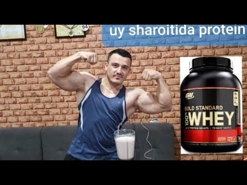 Djuraev Jahon  Uy sharoida protein