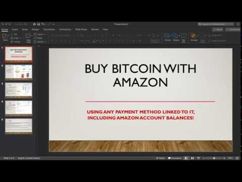 Buy Bitcoin NO ID With AMAZON