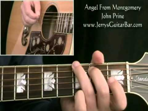 How To Play John Prine Angel From Montgomery (intro only) - YouTube