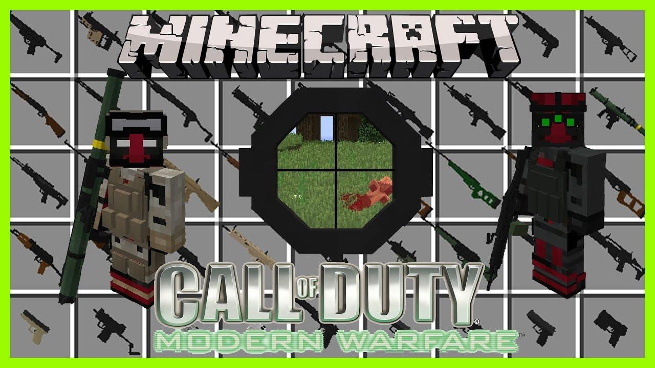 Modern Warfare Mod - 1 12 2/1 11 2/1 10 2/1 7 10 | Minecraft