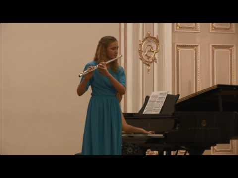 Shepherdess's song (Maria Krasilnikova, flauto; Natalia Matveeva, piano)
