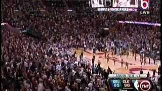 Lebron James Buzzer Beater Game 2 Magic vs. Cavs