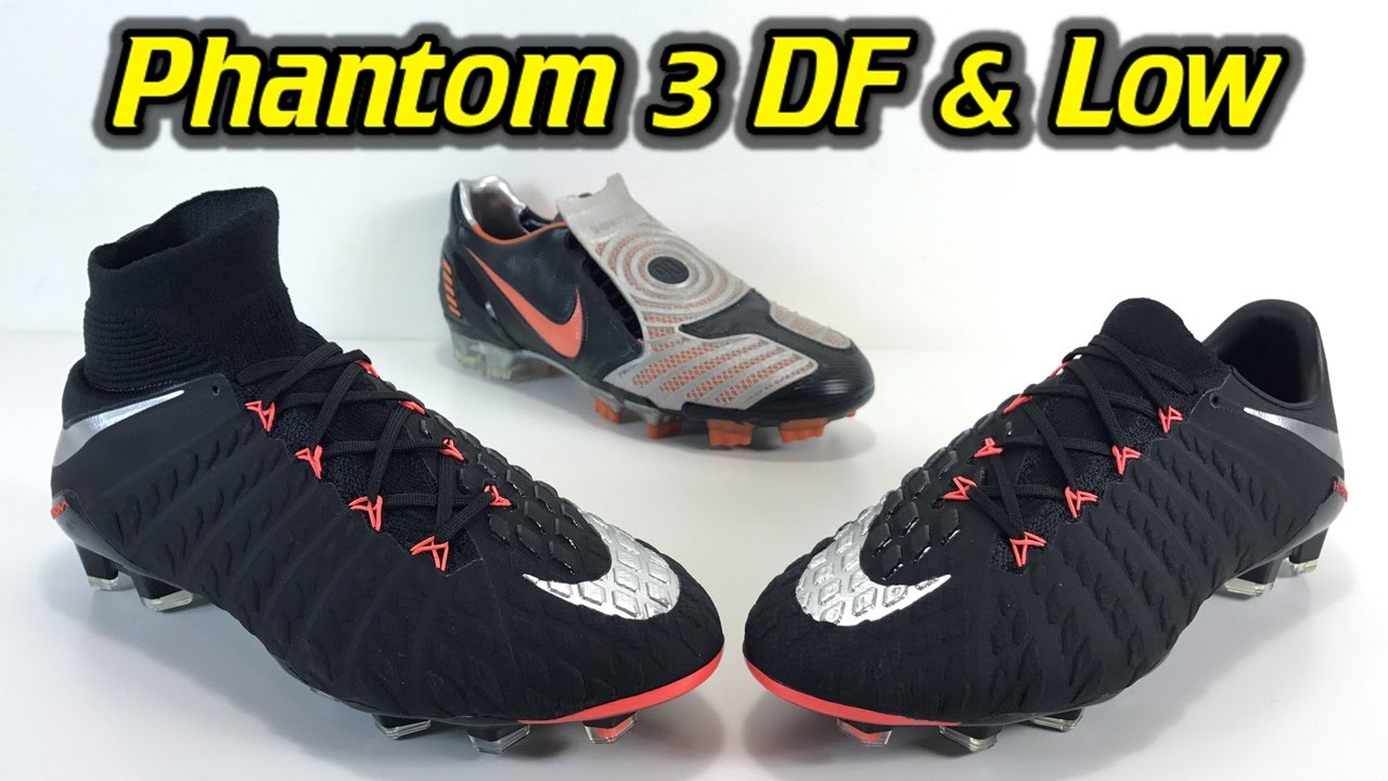 e9c175c60a1 Nike Hypervenom Phantom 3 DF   Low-Cut (Strike Night Pack) - One Take  Review + On Feet