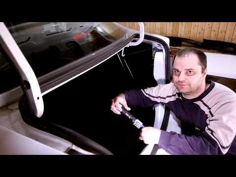 Накладки в багажник Renault Logan | Рено Логан
